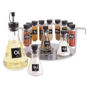Chemist's Spice Rack.