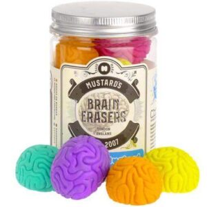 Brain erasers.