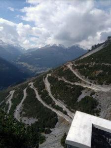 Steep, steep is the road ;)