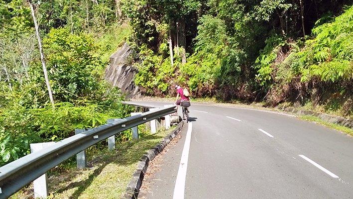 cycling Malaysia Frasier hill