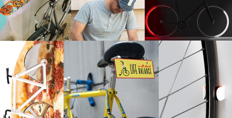 Gift for cyclist collage