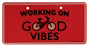 working on good vibes