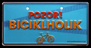 Biciklholik tablica za kolo