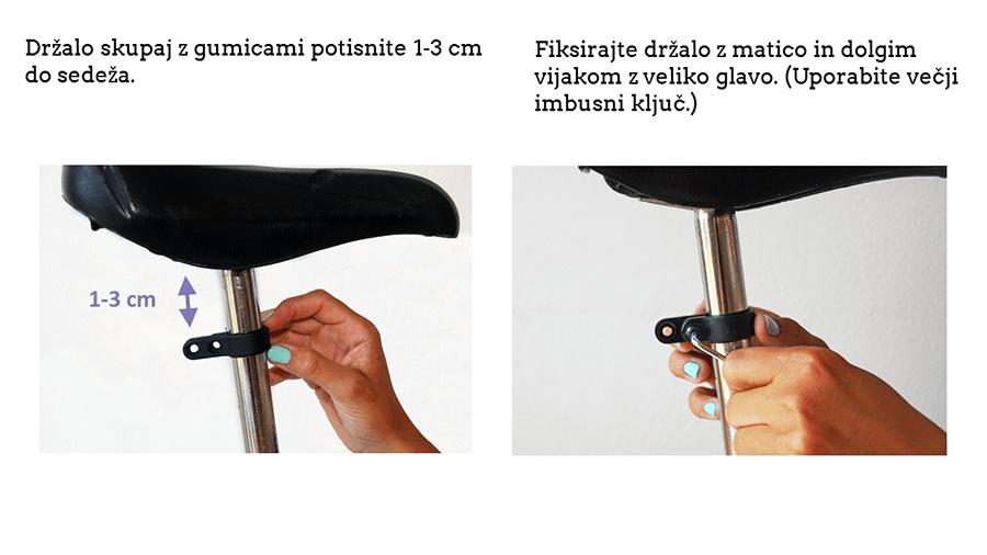Kako namestiti držalo za tablico