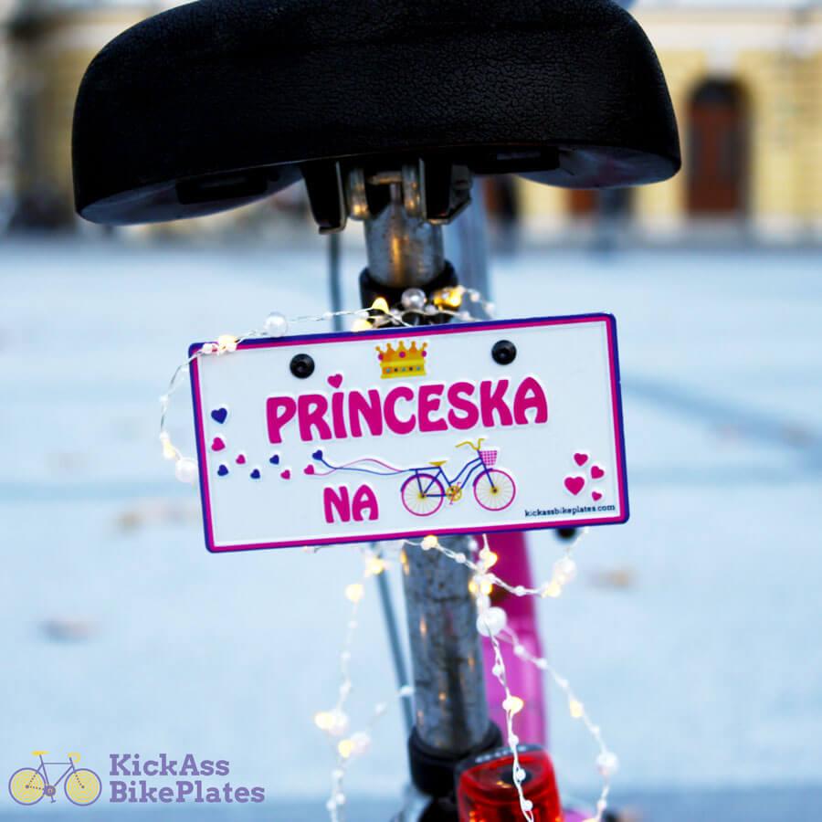 Princeska na kolesu
